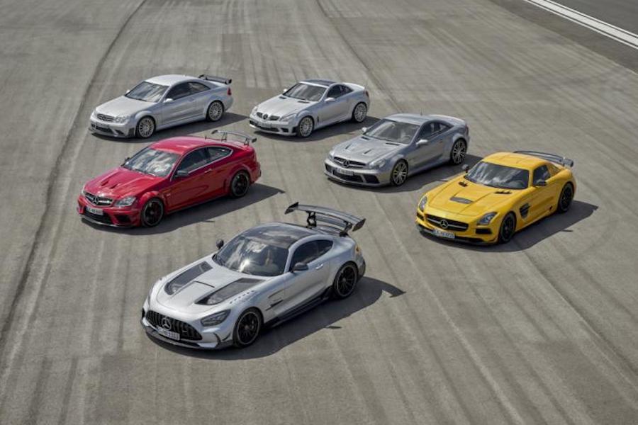 真赛道利器 AMG GT Black Series官图发布