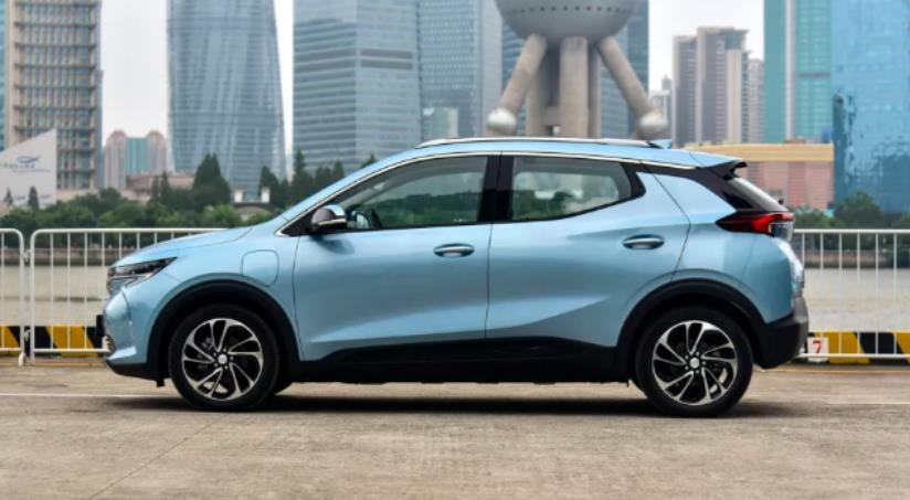 7月24日别克velite 7纯电动新能源汽车上市