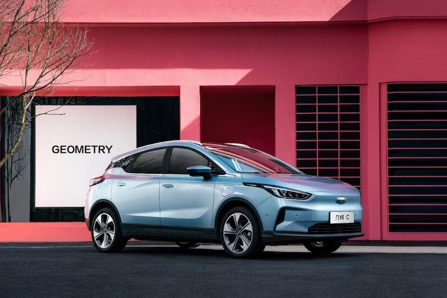 售价12.98-18.28万元  真能跑纯电SUV几何C上市