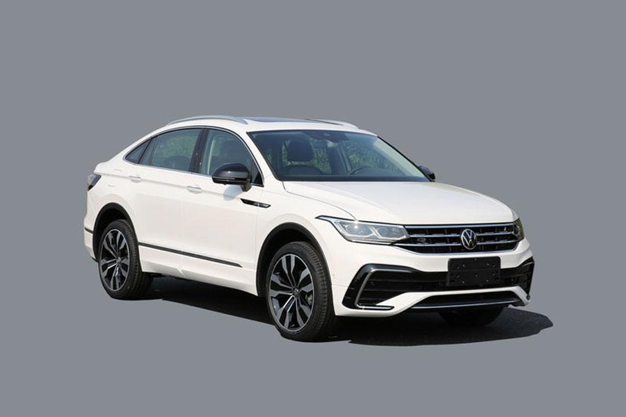轿跑式车身设计 上汽大众途观X将北京车展上市
