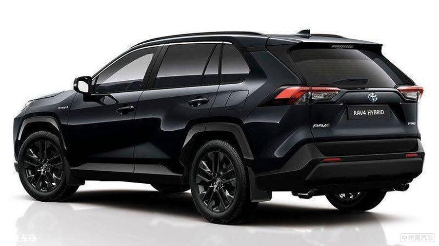 全黑化车身/配2.5L混动 丰田新款RAV4海外预售