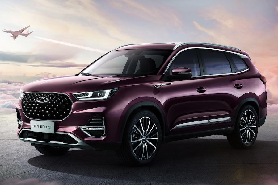 北京车展上新 奇瑞瑞虎8 PLUS 将于9月26日预售