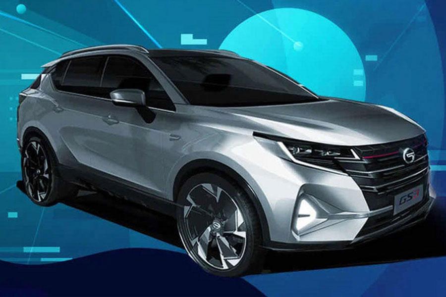 或将北京车展上市 广汽传祺GS3 POWER预告图