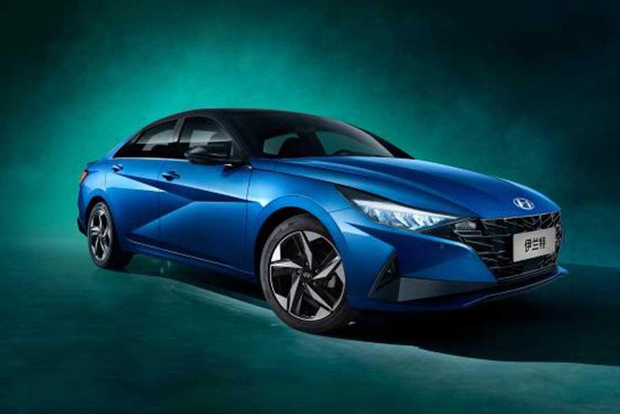 将于北京车展开启预售 全新一代伊兰特官图发布