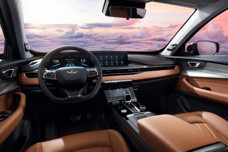 将北京车展开启预售 瑞虎8 PLUS部分配置信息