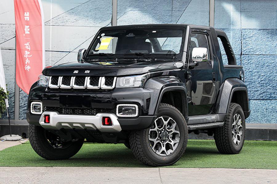 售价16.99万元 新款北京F40皮卡正式上市