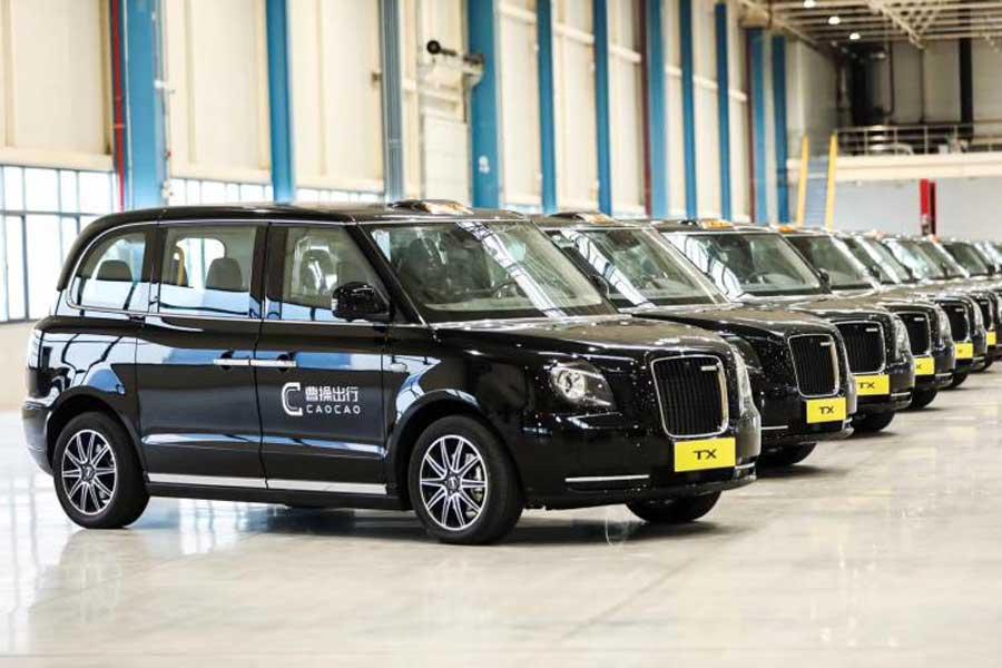 与罗伦士联合打造 LEVC LX北京车展全球首秀