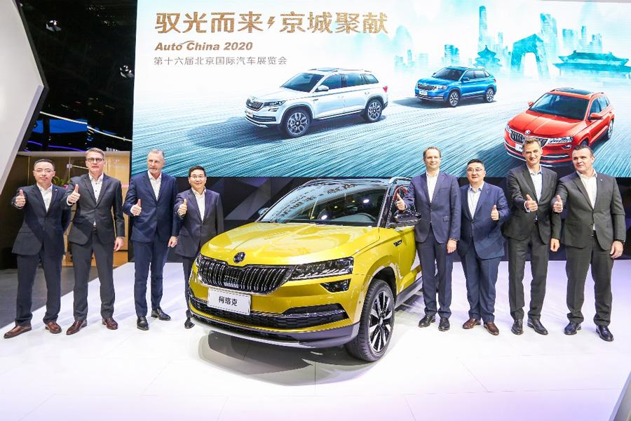 2020北京车展:2021款柯珞克亮相并启动预售