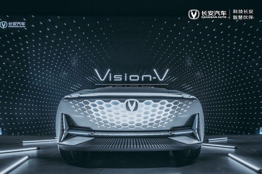 高端产品序列 长安概念车Vision V北京车展亮相