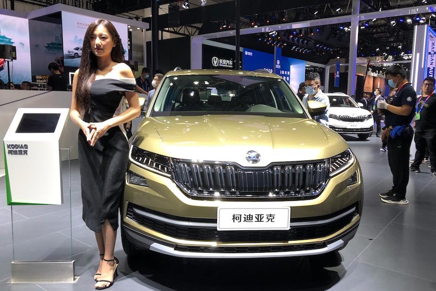 售17.79万起 新款斯柯达柯迪亚克于北京车展亮相