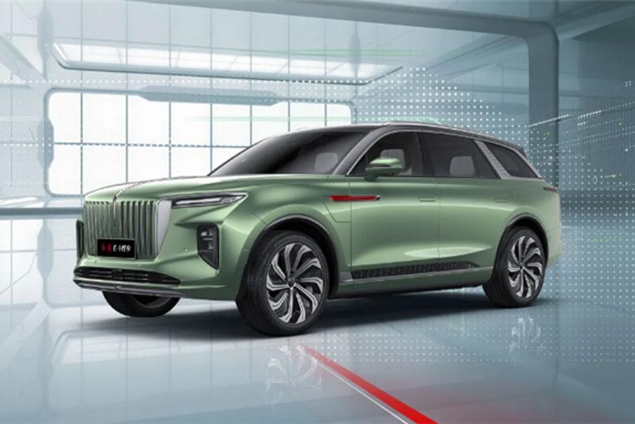 北京车展:一汽红旗E-HS9预售55万元-75万元