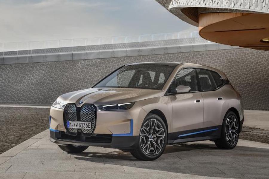 定位纯电中大型SUV 宝马iX 11月11日正式发布