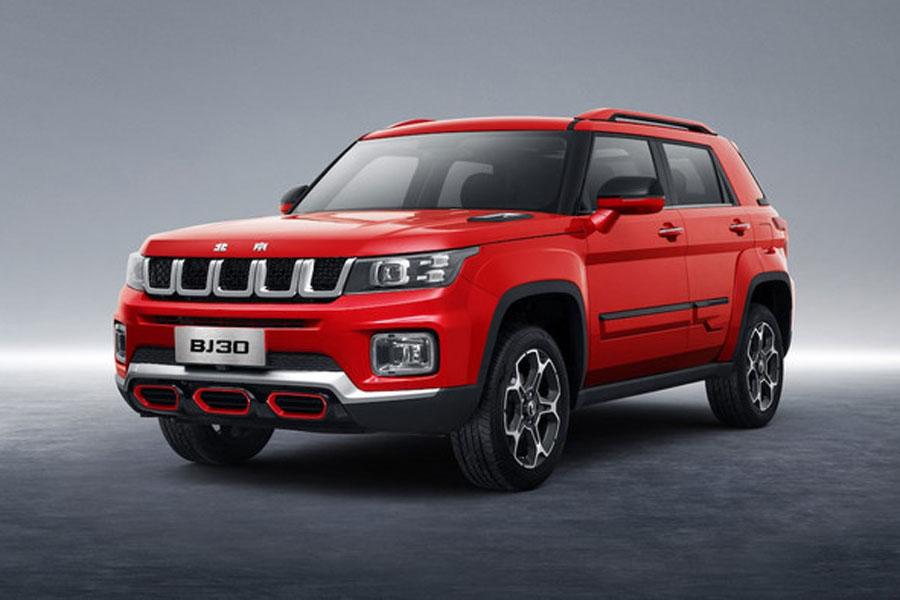 预售价格10.60-12.60万元 北京越野BJ30开启预售