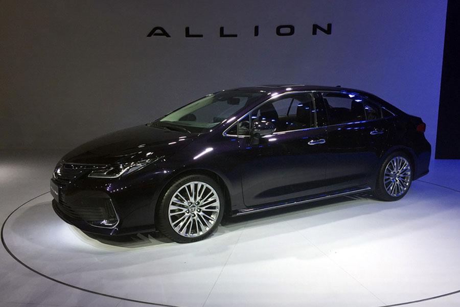 或明年3月上市 一汽丰田ALLION亮相广州车展