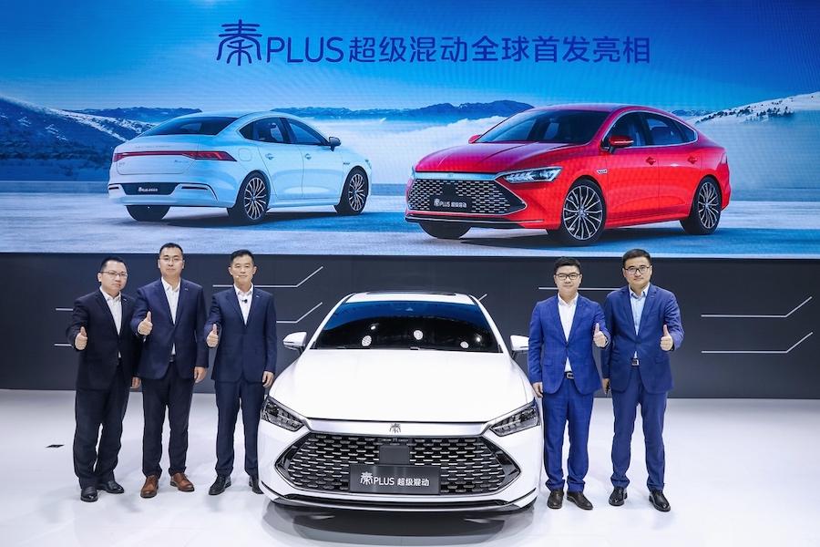 科技展現中國自信 比亞迪廣州車展交年末滿分答卷