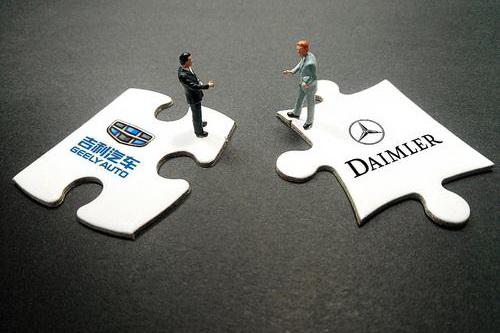 戴姆勒公司、吉利集團以及旗下品牌展開合作