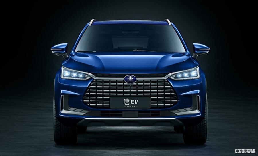 将于12月上市 比亚迪唐EV新款车型官图发布