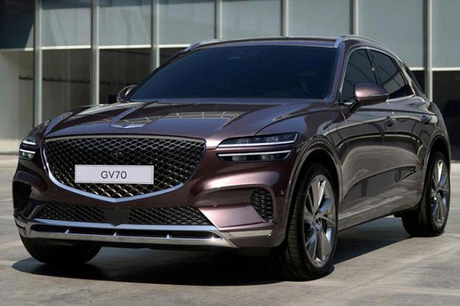 定位中型SUV 捷尼赛思GV70将12月8日全球首发