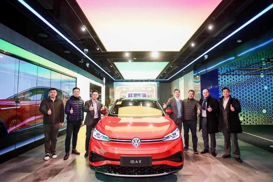 上汽大众首家数字化城市展厅ID.Store X杭州开业
