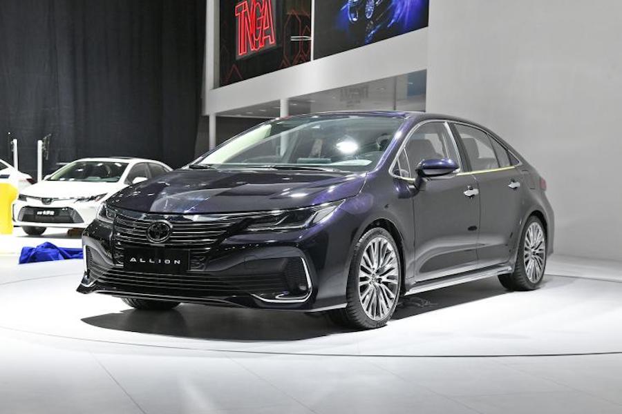 搭载2.0L发动机 一汽丰田ALLION或2021年3月上市