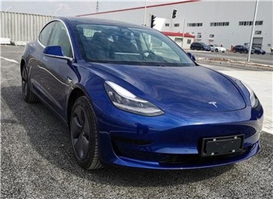 或将于明年初上市 国产特斯拉新款Model 3申报图