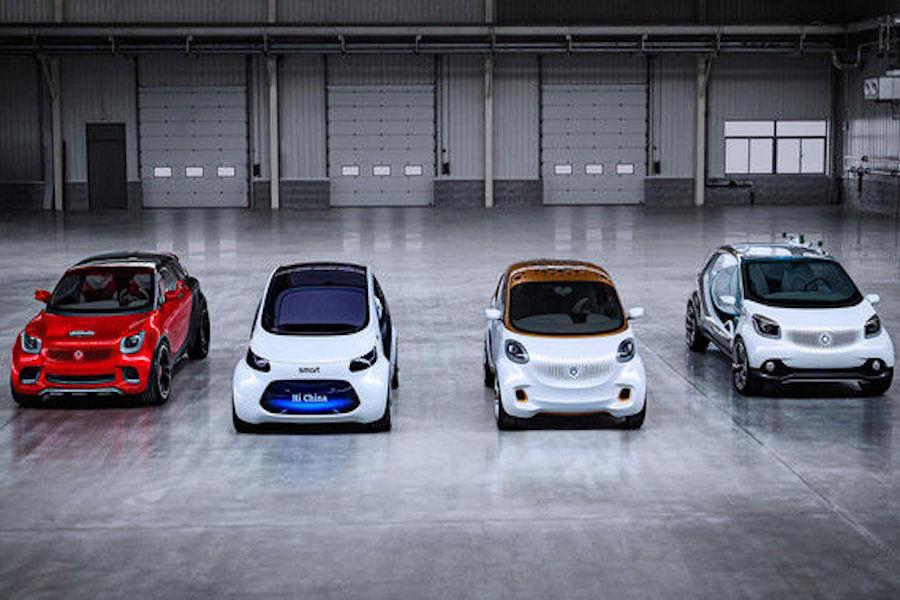 科技与乐趣 4款全新smart概念车将于12月12日发布