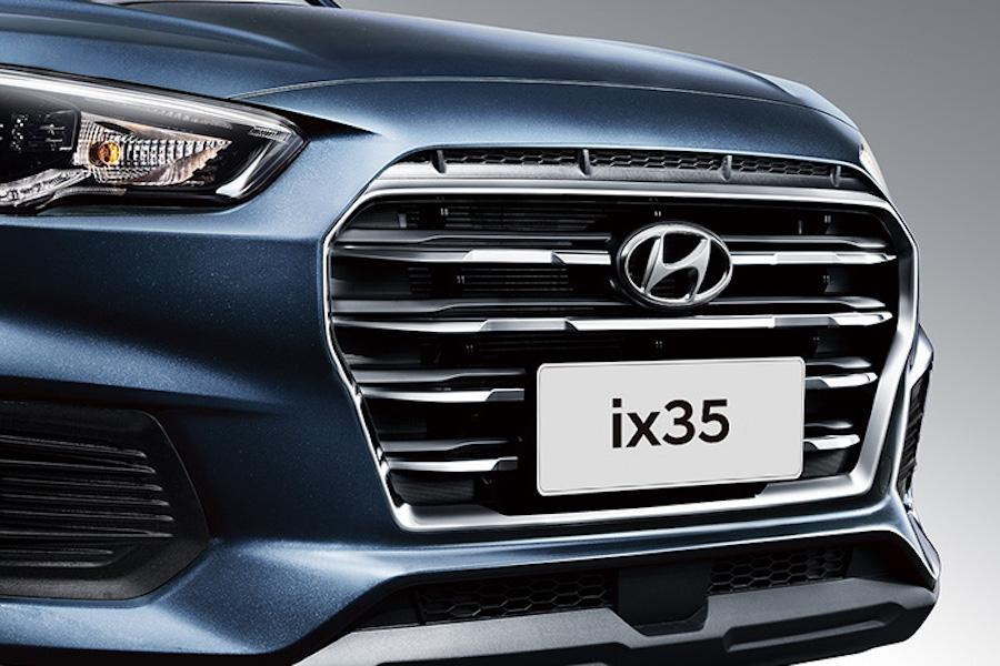 外观更新颖 新款现代ix35将于12月13日正式上市