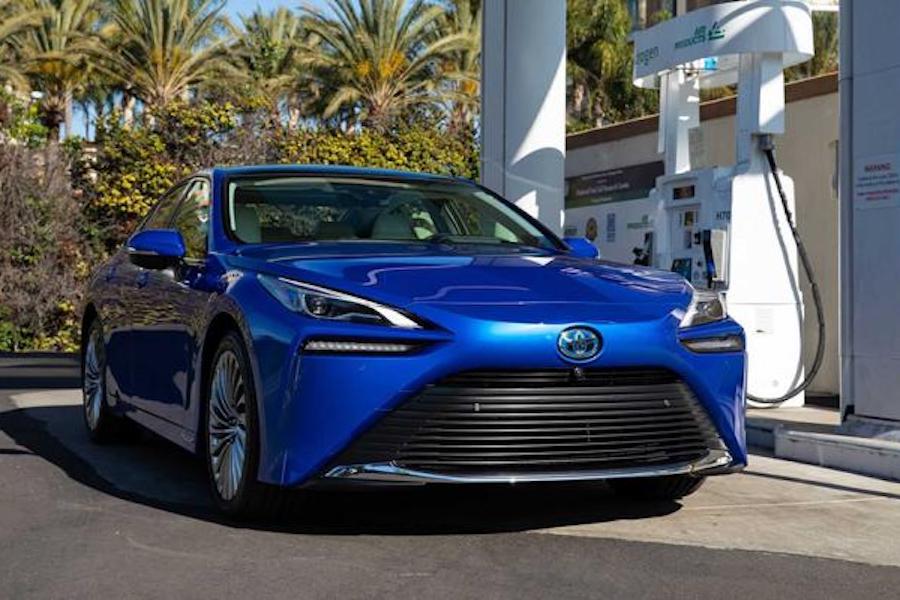 因加氢站数量限制 全新丰田Mirai在美国开售