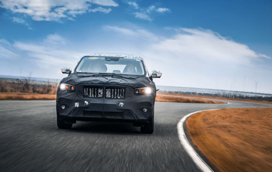 基于CMA架构平台打造 吉利全新SUV-KX11路试谍照