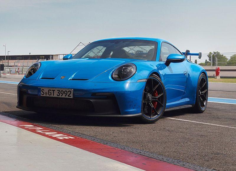 最大572马力 保时捷新款911 GT3 RS最新谍照曝光