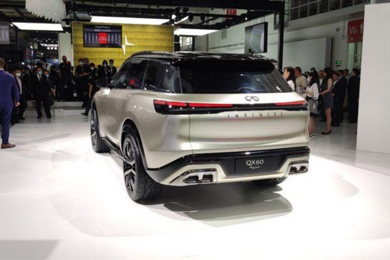 英菲尼迪全新中大型SUV将国产 明年上市/竞争XT6