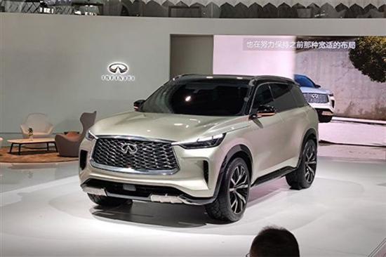 英菲尼迪全新中大型SUV将国产 明年上市