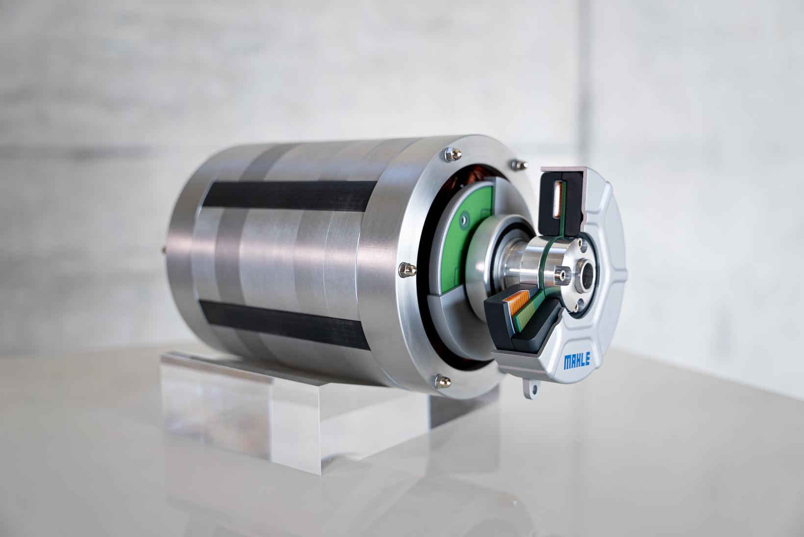 马勒开发高效无磁电机 效率可达95%