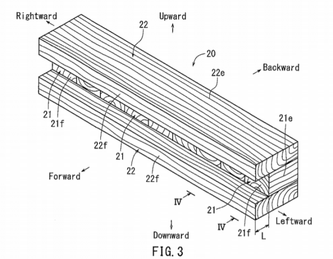 丰田汽车新保险杠专利申请 完全用木头制成