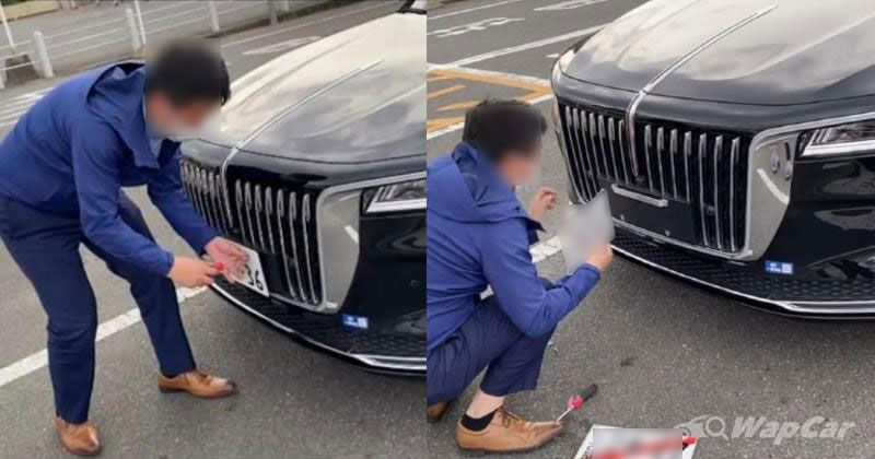 """红旗品牌走出国门 """"日版""""H9售价/实车曝光"""