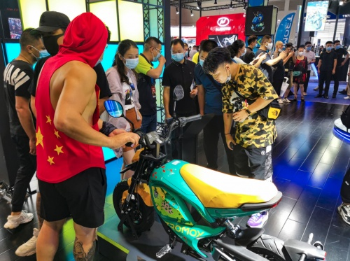 电动摩托车,这个品牌竟然有惊喜-摩兽!