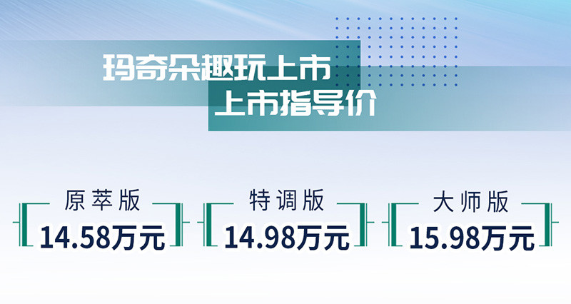 魏牌玛奇朵售价14.58万起 搭载智能混动DHT技术