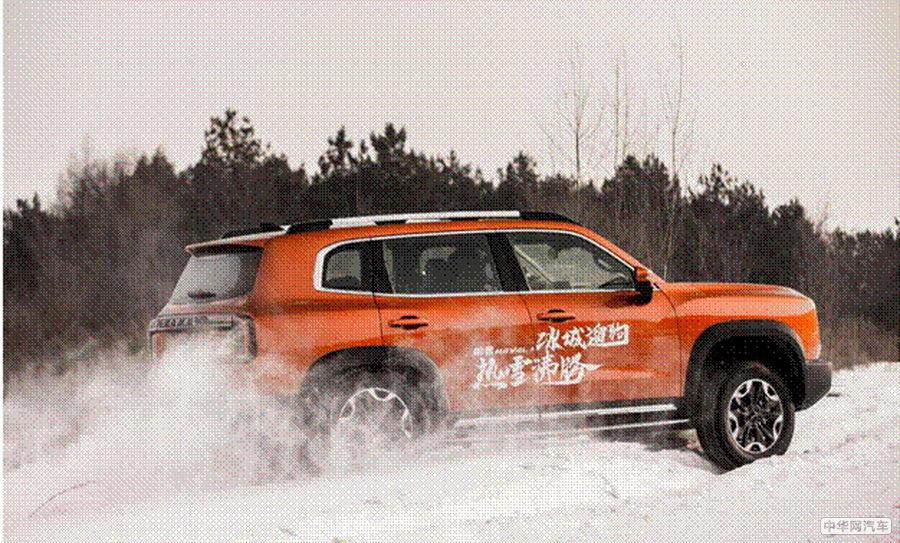 冰城雪遇上中华田园犬  哈弗大狗2.0T四驱冰雪试驾