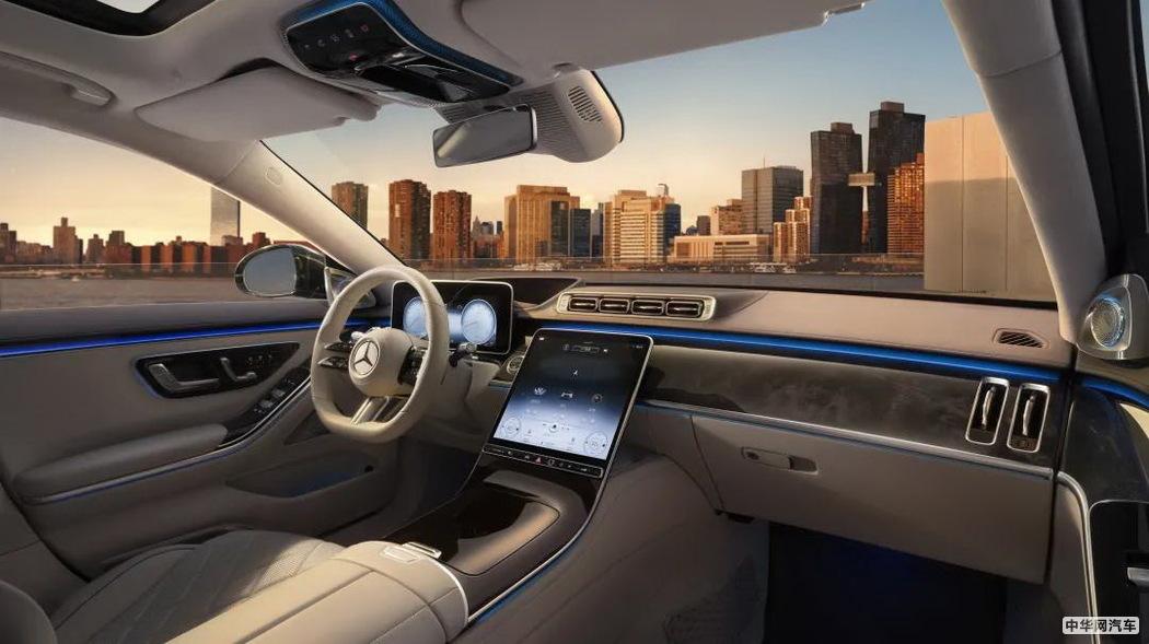 全新梅赛德斯-奔驰S级轿车上市 售89.98-181.88万