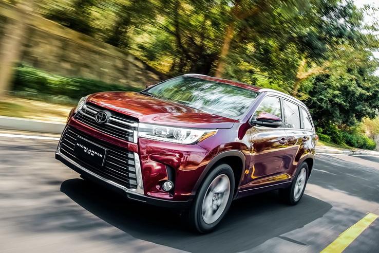 广汽丰田2021款汉兰达上市 23.98万起/推9款车