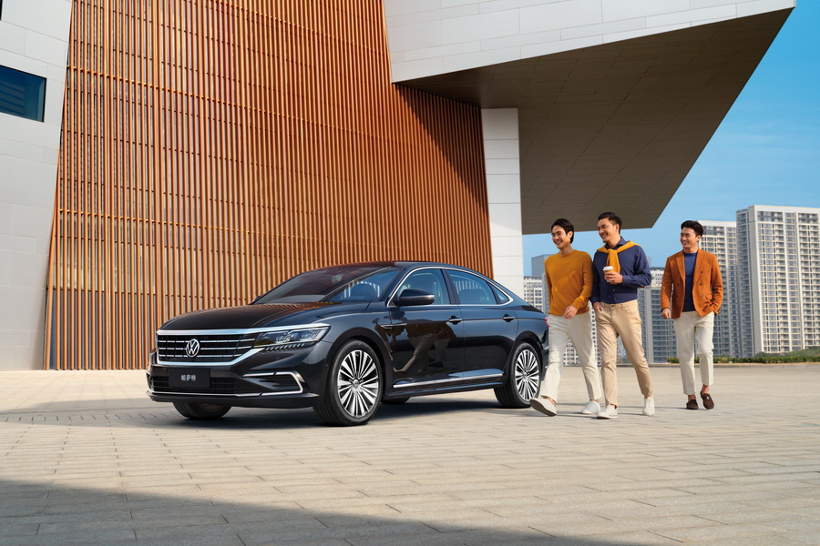 上汽大众2021款帕萨特上市  推8款车/18.59万起