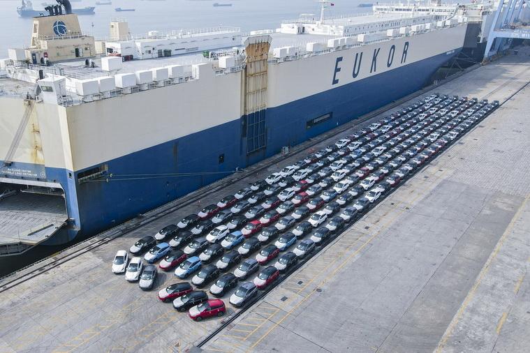 第二批小鹏G3发运欧洲 推进国际化步伐