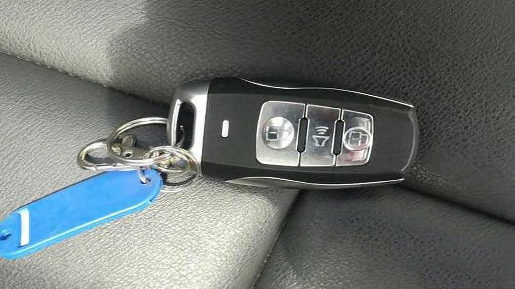 哈弗h6车钥匙换电池