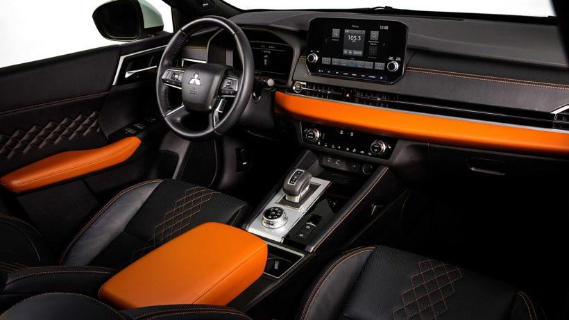 三菱新一代欧蓝德发布 造型硬朗/配置升级