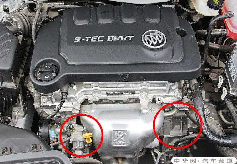别克全新英朗发动机漏油吗,全新英朗发动机漏油图片