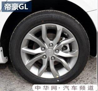 帝豪gl用什么轮胎,帝豪gl轮胎什么牌子