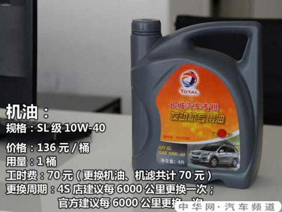 哈弗h6用什么型号机油,h6用什么品牌机油最好