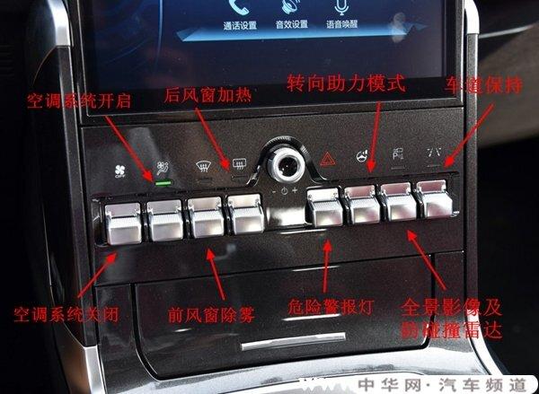 哈弗f5中控台功能介绍,哈弗f5中控按键说明书