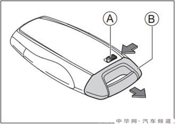 哈弗h4钥匙怎么更换电池,哈弗h4钥匙拆卸教程