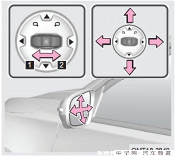 瑞虎8后视镜怎么折叠,瑞虎8后视镜怎么加热